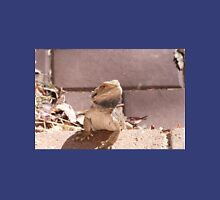 'ERR! SORRY NOT IN THE HOUSE!' Bearded dragon getting pushy. South Australia. Mens V-Neck T-Shirt