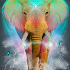 Nothing Is So Strong As Gentleness (Neon Elephant v. 2) by soaringanchor