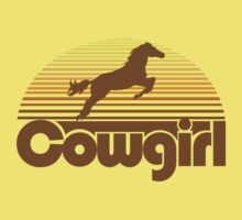 Cowgirl Kids Tee