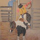 Ekalaka Rodeo by victorgroza