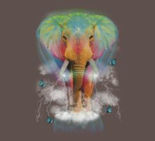 Nothing Is So Strong As Gentleness (Neon Elephant v. 2) T-Shirt