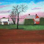NJ farm on canvas by victorgroza