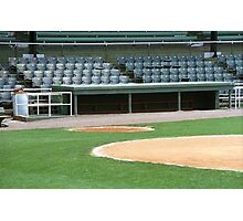 Dugout at the Old Ballpark Photographic Print