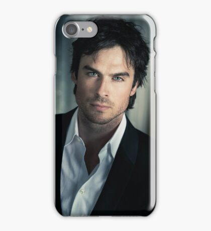 Ian Somerhalder Damon Salvatore iPhone Case/Skin