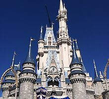 Cinderella's Castle by AngelaHRey