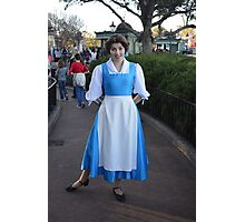 Belle ~ Beauty and the Beast  Photographic Print