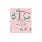 Dream Big Start Small by chesapeaketides