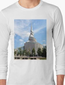 Amazing Architecture - Temple of Community of Christ Long Sleeve T-Shirt