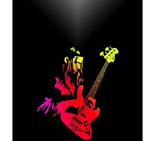 Jaco Pastorius iPhone Case by mikedm