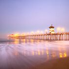 Morning on the Huntington Beach Pier by RondaKimbrow