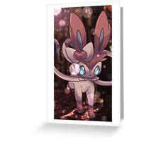 Nymphia | ニンフィア | Sylveon Greeting Card
