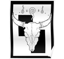 Beasts&Bones- Bull Poster