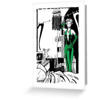 Tales To Admonish - Bullet Gal Greeting Card