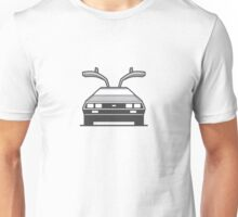 #4 Delorean Unisex T-Shirt
