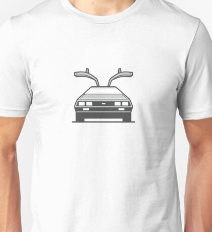 #4 Delorean Unisex T-Shirt