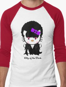 Kitty Of The Dark Men's Baseball ¾ T-Shirt