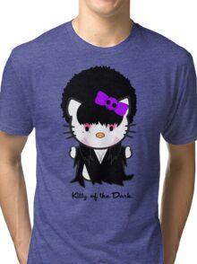 Kitty Of The Dark Tri-blend T-Shirt