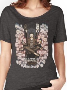 Wil Anderson: Wiluminati 'Faces' Women's Relaxed Fit T-Shirt