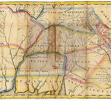 MYSTERIOUS SOUTHEAST UNITED STATES 1831 by Daniel-Hagerman