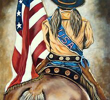 Cowgirl Olympian  by Susan Bergstrom