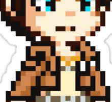 Eren Jaeger Pixel Sticker