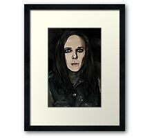 "Ricky ""Horror"" Olson Framed Print"