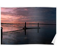 Sunrise in Caloundra, Australia Poster