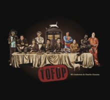 TOFOP- Last Supper Tee by James Fosdike