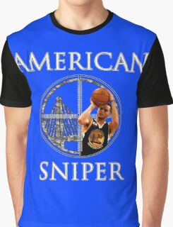 Steph Curry - American Sniper Graphic T-Shirt