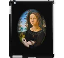 Renaissance woman iPad Case/Skin