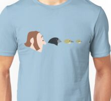 Darwin and Finches Unisex T-Shirt