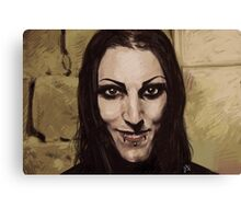 "Chris ""Motionless"" Cerulli Canvas Print"
