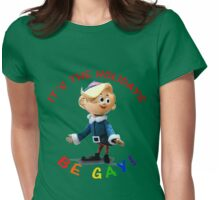 Be Gay Womens Fitted T-Shirt