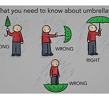 Umbrella Instructions by robot-hugs