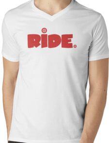 Ride. Mens V-Neck T-Shirt