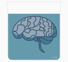 Brain in a jar (blue) Kids Clothes