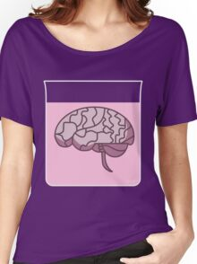 Brain in a jar (pink) Women's Relaxed Fit T-Shirt