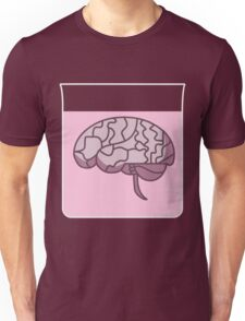 Brain in a jar (pink) Unisex T-Shirt