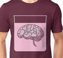 Brain in a jar (pink) Unisex T-Shirt
