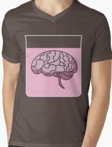 Brain in a jar (pink) Mens V-Neck T-Shirt