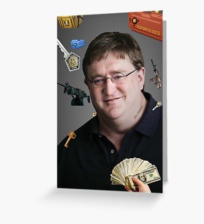 CSGO De_Gaben - Valve - Skins Greeting Card
