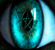 In A Witches Eye Sticker