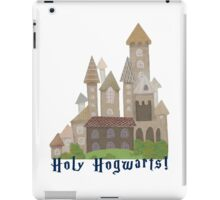 Holy H... Hogwarts! iPad Case/Skin