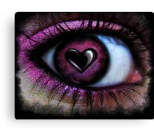 Eye Heart U Canvas Print