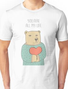 Bear in love Unisex T-Shirt
