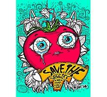Save The Veggies - Tomato Photographic Print