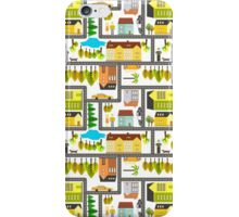 Busy city iPhone Case/Skin