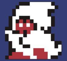 16 Bit Nostalgia Pixel Ghost by beerhamster