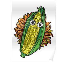 Concerned Corn Poster