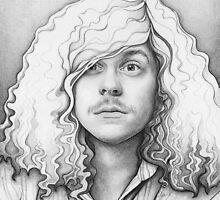 Blake Anderson Workaholics Portrait by OlechkaDesign